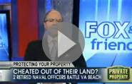 Fox & Friends: Retired Navy Officers Cheated Out of Property